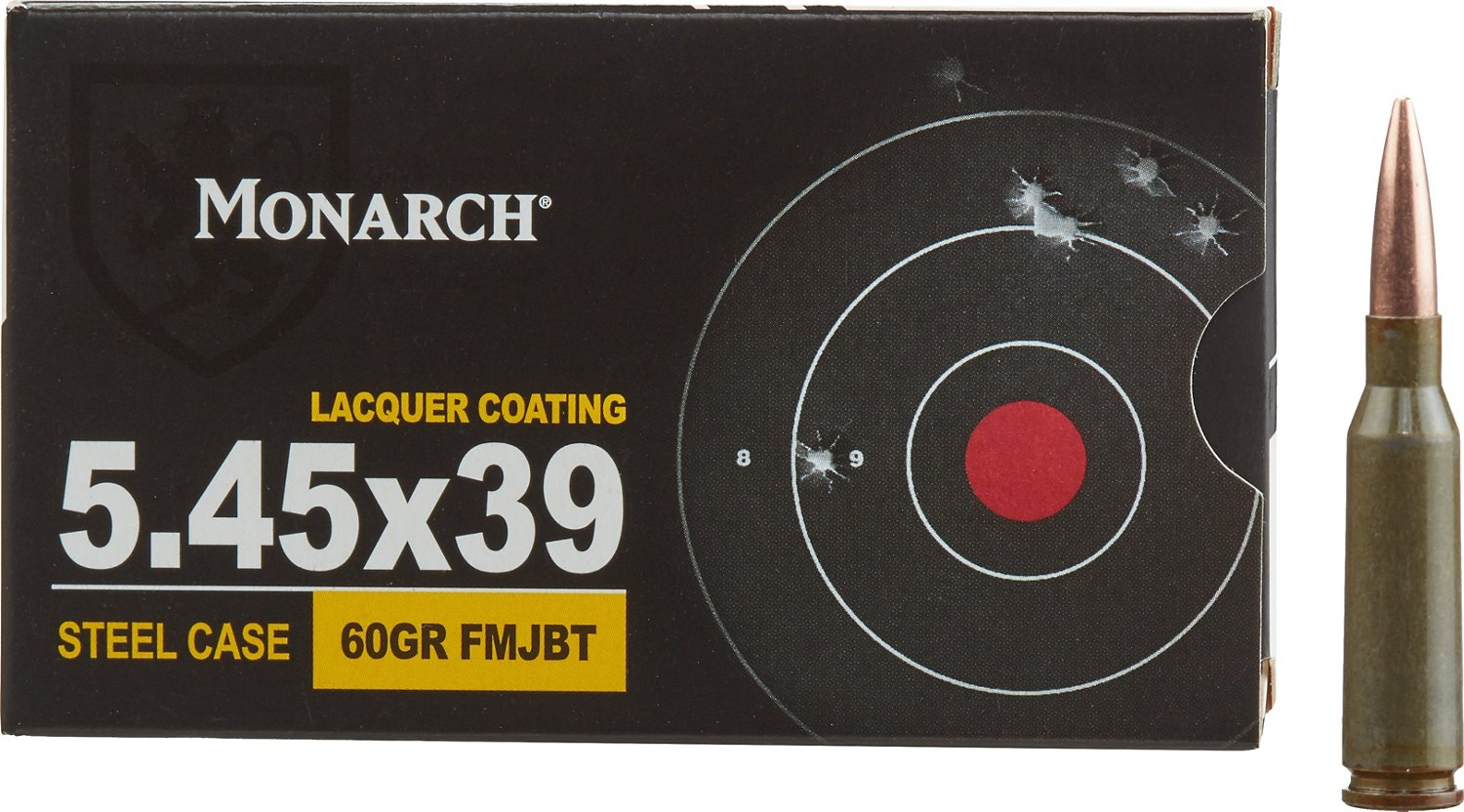 Monarch 5.45 x 39mm 60-grain Centerfire Rifle Ammunition