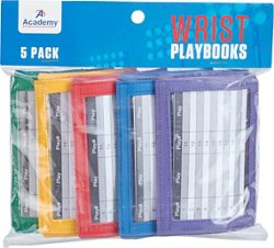 Academy Sports + Outdoors Youth Wrist Playbooks 5-Pack