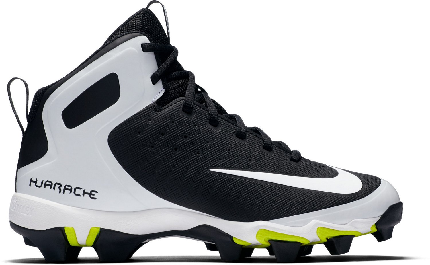Nike Boys' Alpha Huarache Pro Mid MCS Baseball Cleats - view number 3