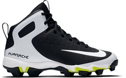 Nike Boys' Alpha Huarache Pro Mid MCS Baseball Cleats
