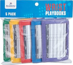 Academy Sports + Outdoors Wrist Playbooks 5-Pack