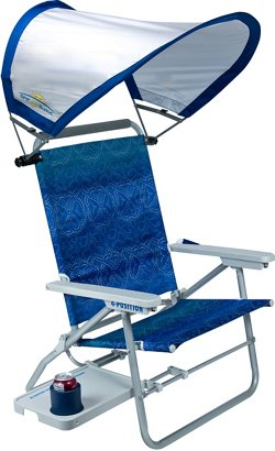 GCI Outdoor Waterside Big Surf Chair with SunShade