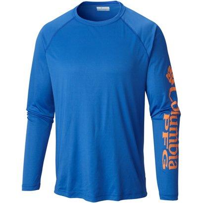 cdebb9eb Columbia Sportswear Performance Fishing Gear Terminal Tackle Big & Tall  Long Sleeve T-shirt