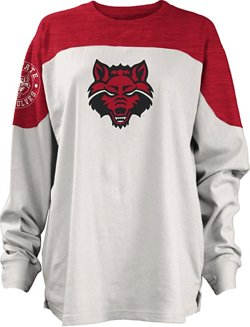 Three Squared Juniors' Arkansas State University Cannondale Long Sleeve T-shirt
