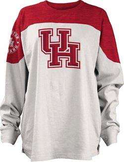 Three Squared Juniors' University of Houston Cannondale Long Sleeve T-shirt