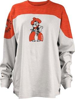Three Squared Juniors' Oklahoma State University Cannondale Long Sleeve T-shirt