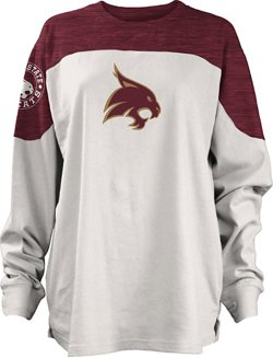 Three Squared Juniors' Texas State University Cannondale Long Sleeve T-shirt