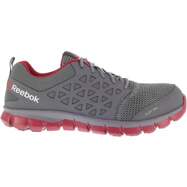 b3dc53321 ... Reebok SubLite Cushion EH Alloy Toe Lace Up Work Shoes. Men's Work  Boots. Hover/Click to enlarge