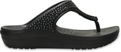 Crocs Women's Sloane Embellished Flip-Flops