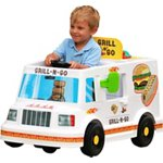 RollPlay 6 V Kids' Grill n Go Food Truck Ride-On - view number 3