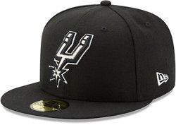 New Era Men's San Antonio Spurs Basic Collection 59FIFTY OTC Cap