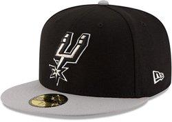 New Era Men's San Antonio Spurs 59FIFTY Team 2-Tone Cap
