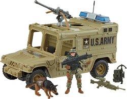 Excite U.S. Army Power Vehicle Playset
