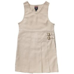 Girls' Twin Buckle Tab Jumper