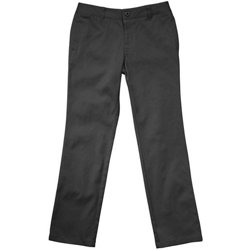 Girls' Plus Size Straight Leg Twill Pant