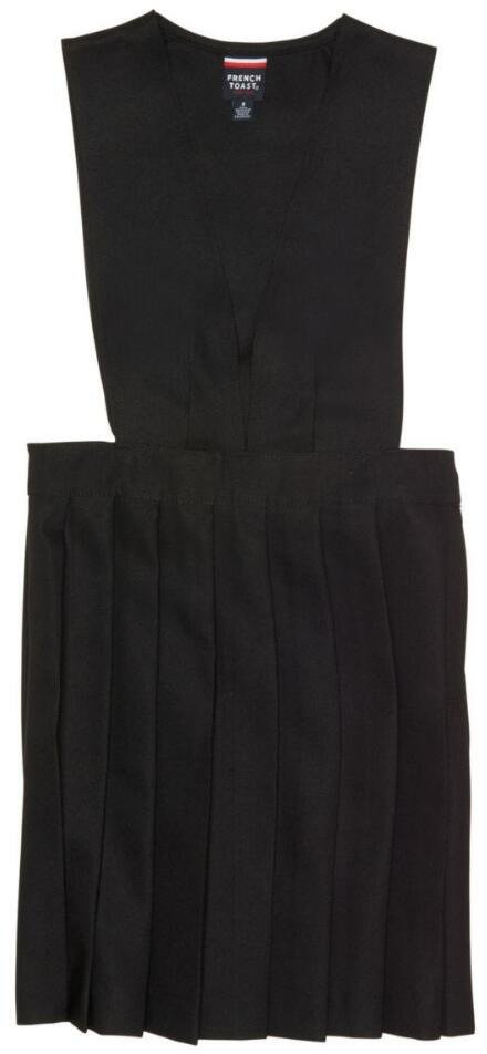 French Toast Girls' V-neck Pleated Jumper - view number 1