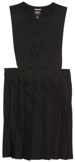 French Toast Girls' V-neck Pleated Jumper