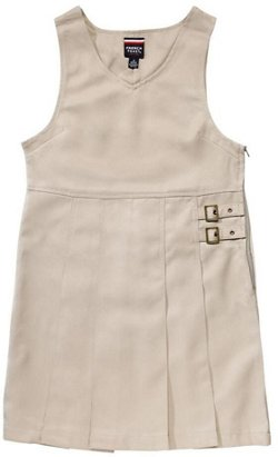French Toast Toddler Girls' Twin Buckle Tab Jumper
