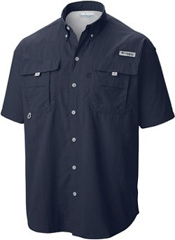 Columbia Sportswear Men's Performance Fishing Gear Bahamas II Big & Tall Short Sleeve Shirt