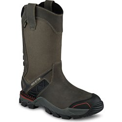 Men's 11 in Crosby EH Steel Toe Wellington Work Boots
