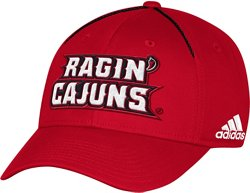 adidas Men's University of Louisiana at Lafayette Coach Structured Flex Cap