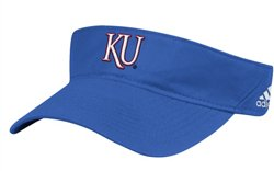 adidas Men's University of Kansas Coach Adjustable Visor