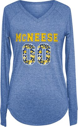 Chicka-d Women's McNeese State University Favorite Long Sleeve T-shirt
