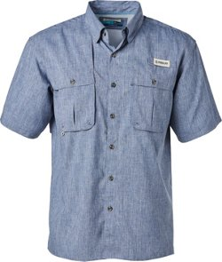 Men's Aransas Pass Heather Short Sleeve Fishing Shirt