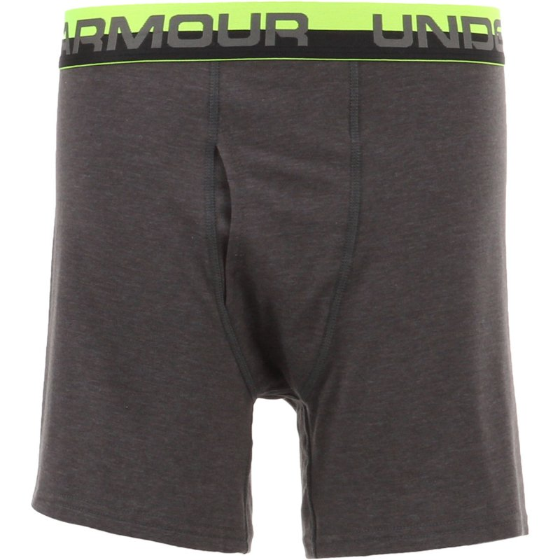 3ed61ee603f7 Under Armour Boys' Boxer Briefs 2-Pack (Carbon Heather, Size X Large
