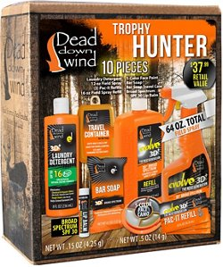 Dead Down Wind Trophy Hunter Scent Elimination Kit