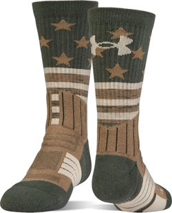 Under Armour Men's Unrivaled Stars and Stripes Crew Socks