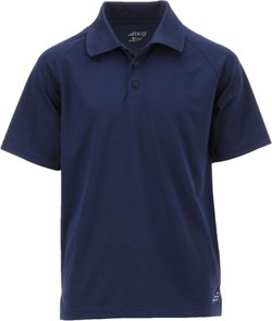 BCG Boys' Solid Short Sleeve Polo Shirt
