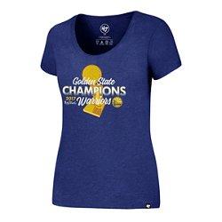 '47 Women's Golden State Warriors 2017 NBA Finals Champions Club Scoop T-shirt