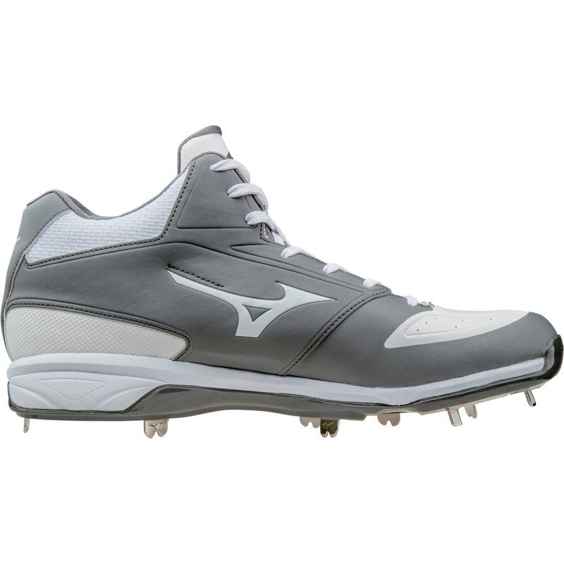 d79208250 Mizuno Men s Dominant IC Baseball Cleats (Gray White