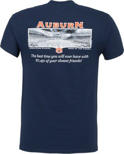 New World Graphics Men's Auburn University Friends Stadium T-shirt