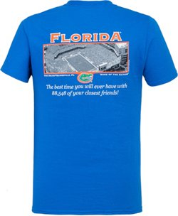 New World Graphics Men's University of Florida Friends Stadium T-shirt