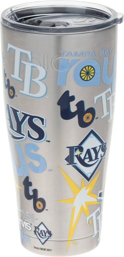 Tampa Bay Rays 30 oz All Over Stainless-Steel Tumbler