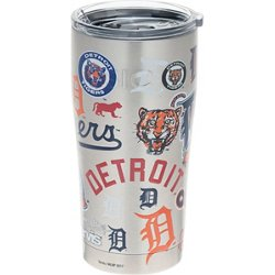 Detroit Tigers 20 oz All Over Stainless-Steel Tumbler