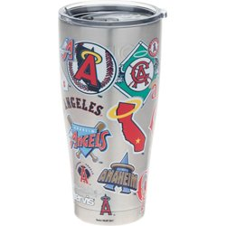 Los Angeles Angels All Over 30 oz Stainless-Steel Tumbler