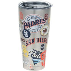 San Diego Padres All Over 30 oz Stainless-Steel Tumbler