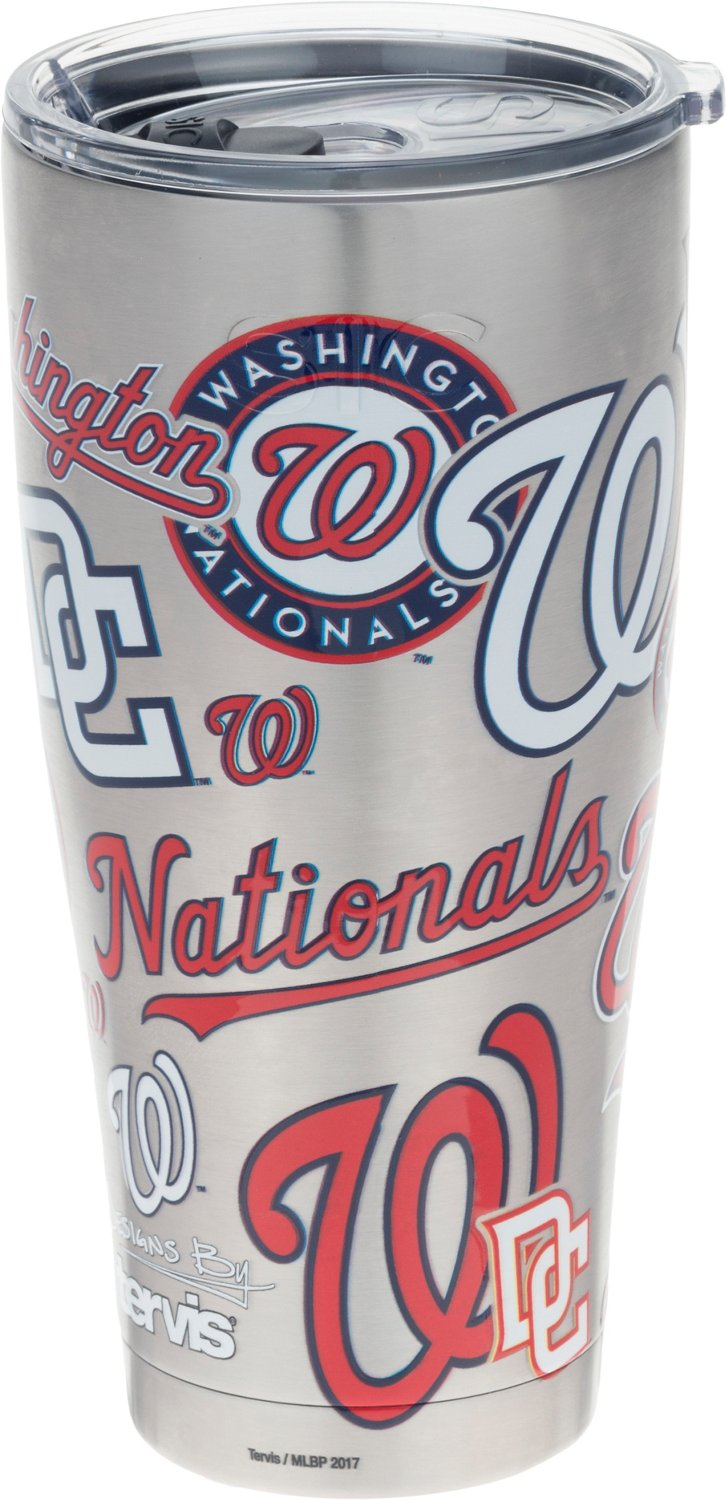 Tervis Washington Nationals All Over 30 oz Stainless-Steel Tumbler - view number 1