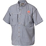 3ab1ecf74 Drake Waterfowl Men's Auburn University Gameday Wingshooter's Short Sleeve  Button-Down Shirt