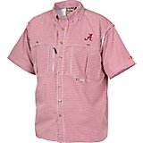 Drake Waterfowl Men's University of Alabama Gameday Wingshooter's Short Sleeve Button-Down Shirt
