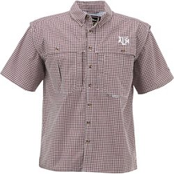 Men's Texas A&M University Gameday Wingshooter's Short Sleeve Button-Down Shirt