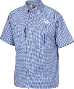 Drake Waterfowl Men's University of Kentucky Gameday Wingshooter's Short Sleeve Button-Down Shirt