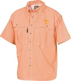 Drake Waterfowl Men's University of Tennessee Gameday Wingshooter's Short Sleeve Button-Down Shirt