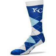 For Bare Feet Men's Originals Kansas City Royals Argyle Socks