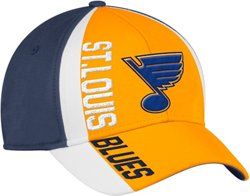 adidas Men's St. Louis Blues Cut N Sew Structured Flex Cap