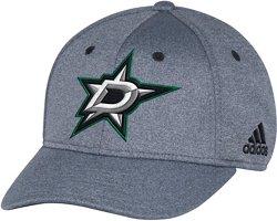 adidas Men's Dallas Stars Primary Logo Structured Flex Cap