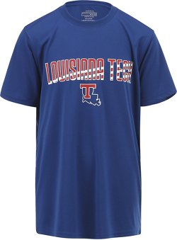 Colosseum Athletics Boys' Louisiana Tech University Team Stripe T-shirt